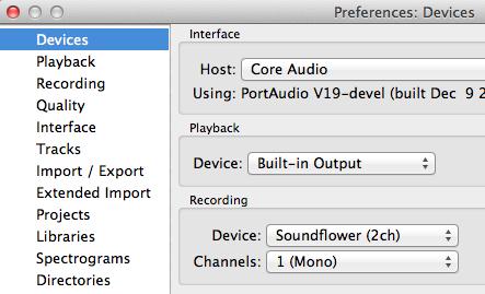 how to make audio sound distant audacity