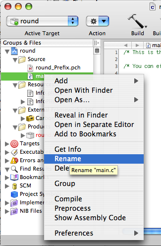 how to make things appear xcode
